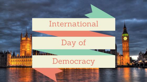 International Day of Democracy Image